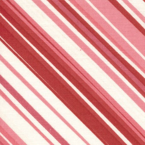 SALE Valentines Chemistry fabric bundle by Cosmo Cricket for Moda, Stripe in Pink-Fat Quarter