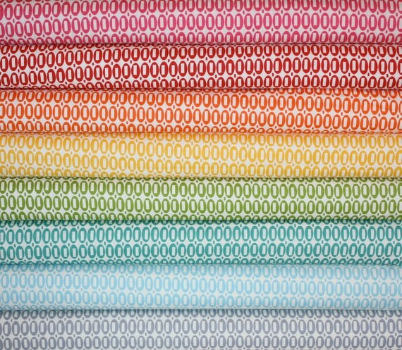 Pezzy Print fabric bundle by American Jane for Moda -Fat Quarter Bundle- 8 total