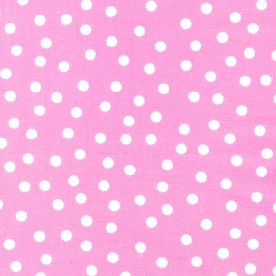 Girl Urban Zoologie and Remix Fabric by Ann Kelle for Robert Kaufman, Basic Dot in Pink-1 Yard or by the yard