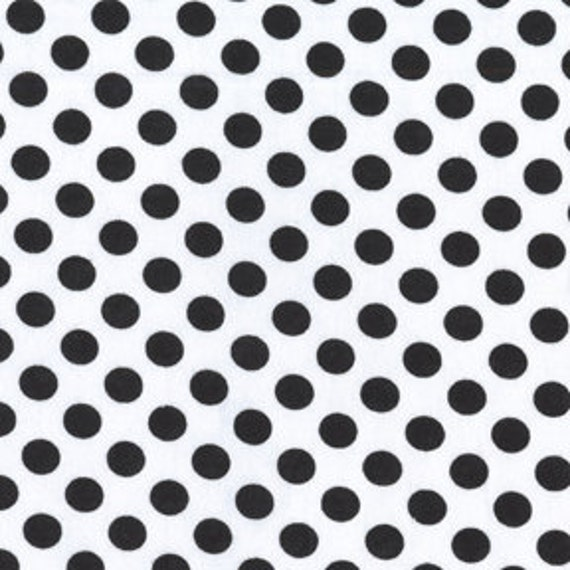 Ta Dot Fabric by Michael Miller, Ta Dot in Dalmation-1 Yard or by the yard