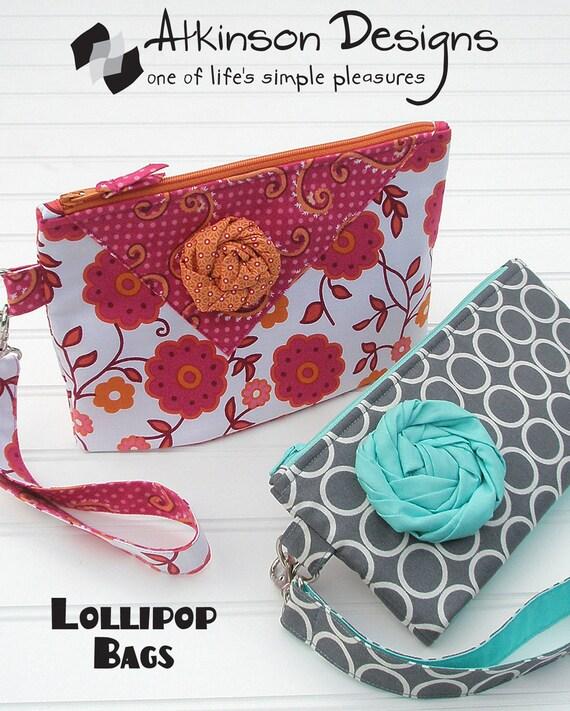 Atkinson Designs Pattern-Lollipop Bags