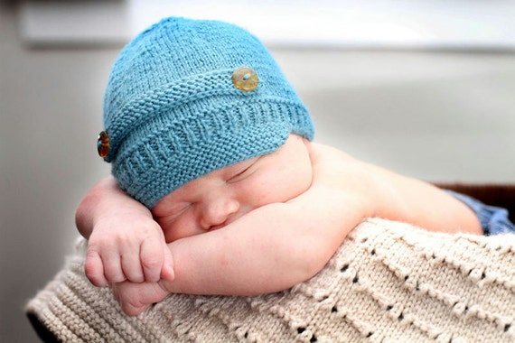 Baby Newsboy Hat - Baby Cakes by lisaFdesign - Download Now - Pattern PDF