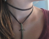 across the universe cross in recycled bronze