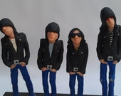 Reserved item: Ramones 1977 Art Dolls Reserved for lemans1