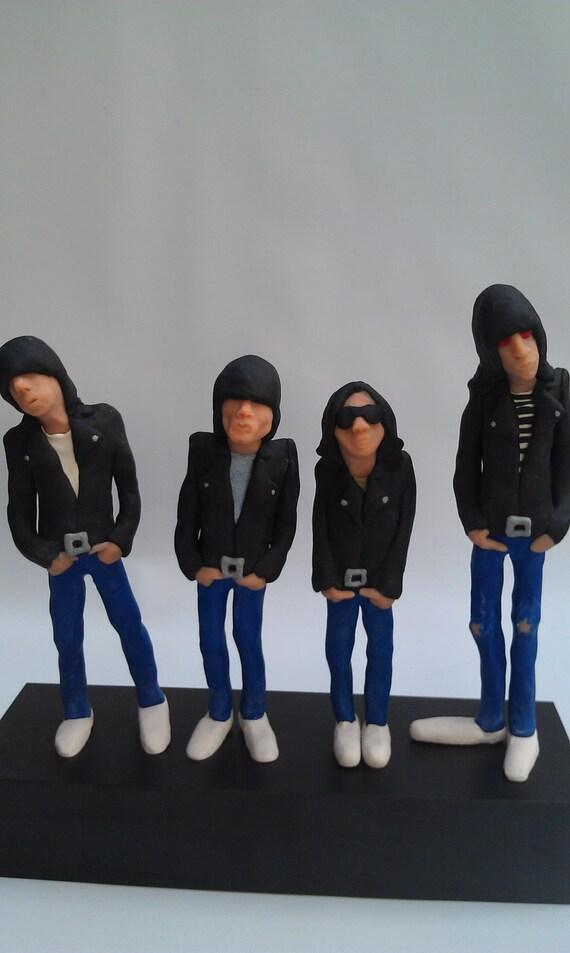 Reserved item: Ramones 1977 Art Dolls Reserved for lemans1