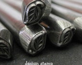 Design Stamp - LEAF - includes How to Stamp Metal tutorial