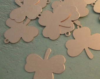 COPPER - Shamrock Blanks - 24g - perfect for your enameling or metal stamping needs