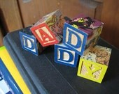 Name Blocks Custom Made with Flat Magnets and Superheroes DC/Marvel