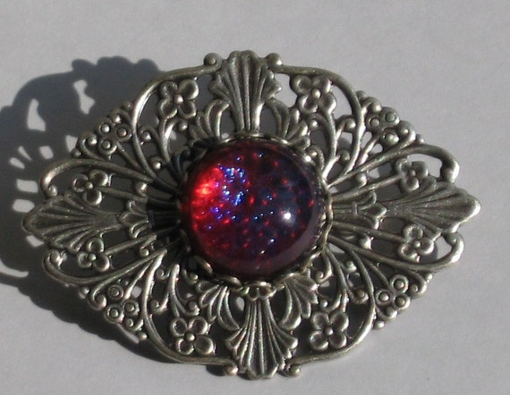 Vintage Dragon's Breath Brooch