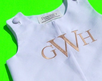Personalized White Jon Jon Perfect for Weddings and Portraits
