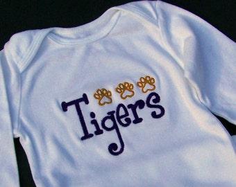 Tigers Paw Print Tee shirt