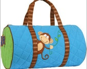 Personalized Stephen Joselph Monkey Duffle Bag
