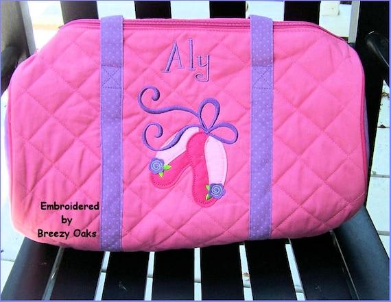 Personalized Stephen Joseph Ballet Duffle Bag