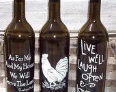Oil/Soap Bottles