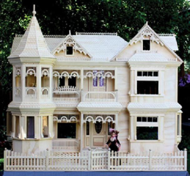 Victorian barbie doll house woodworking plans to make your own for Custom build your home