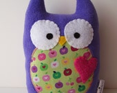 Purple Owl Plush
