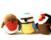 Amigurumi Pattern Crochet - Birds Crochet Patterns