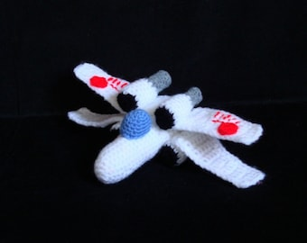 Amigurumi Pattern - Star Wars X Wing - Crochet Pattern