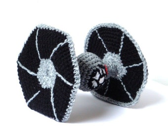 Crochet Pattern - Star Wars T-Fighter - Amigurumi Pattern