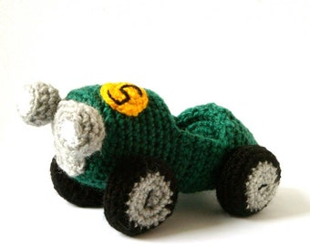 Crochet Car Pattern