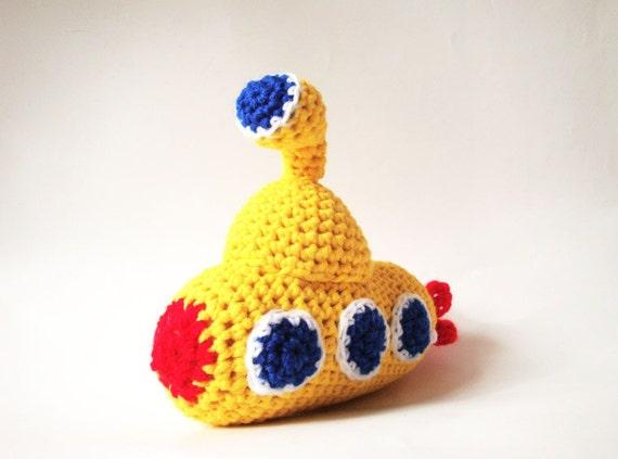 Reserved! Plush Yellow Submarine - Yellow Submarine Softie