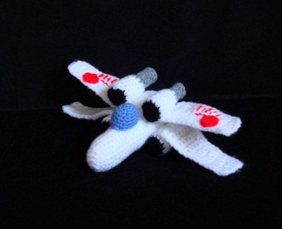 Amigurumi Pattern - Star Wars X Wing - Crochet Pattern