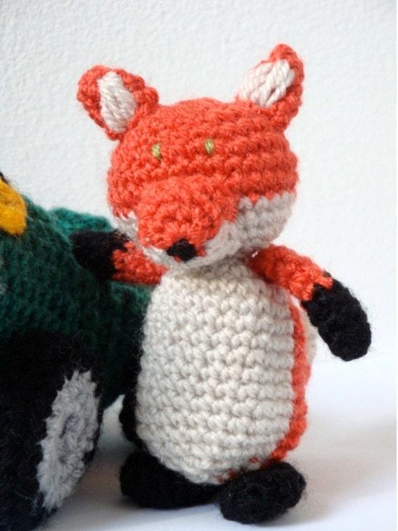 Crochet Car & Amigurumi Fox Pattern from MysteriousCats on ...
