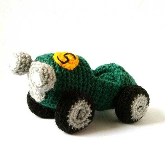 Crochet Car Pattern