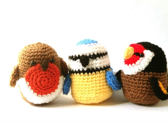 Crochet Patterns Amigurumi - Birds - PDF - Spring