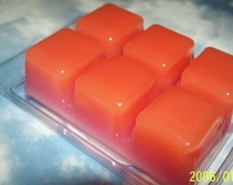 Peachy Watermelon ClamShell Tarts