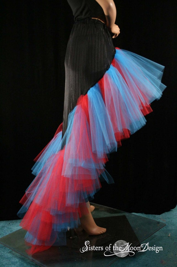 Flamenco Skirt Unwanted Love Sexy Gothic dance Prom--XSmall--Ready to Ship Halloween
