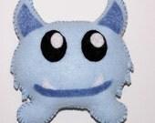 Monstrously Cute - Light Blue