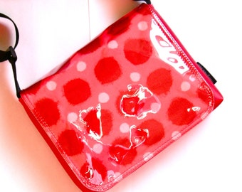 Big spot bag messenger bag in red