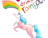 9 out of 10 Unicorns Drink Rainbows