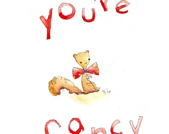 You're Fancy (greeting card)
