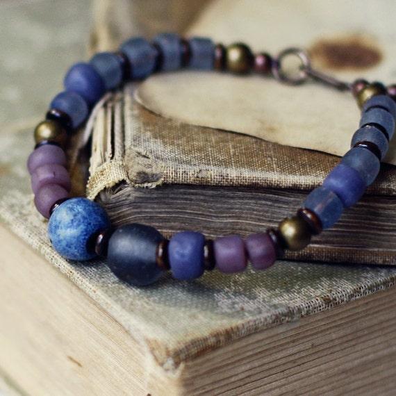 Fog- handmade earthy bracelet
