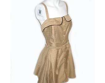1940s Cole of California Bathing Suit Playsuit