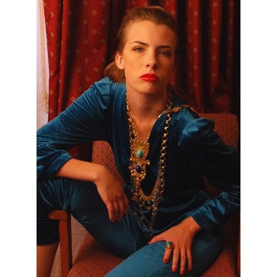 Super Huge 1960's Pauline Rader Mod Necklace
