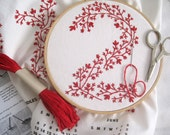 2012 Tea Towel Calendar DIY Embroidery Kit