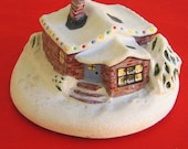 Wee Folk Christmas Cottage