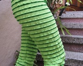 Ruffle Pants (Super Hero Green)SALE