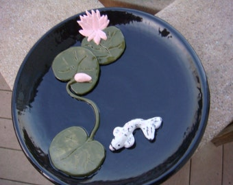 Water Lilly Plate