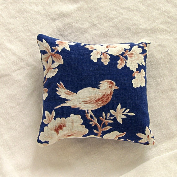 French Blue Lavender Pillow