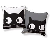 Big Eyes Cat Pillow/Cushion