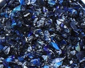 CLEARANCE Silver Dark Blue Frit