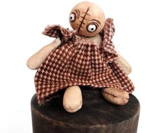 voodoo goth doll bjd prop accessory art doll miniature
