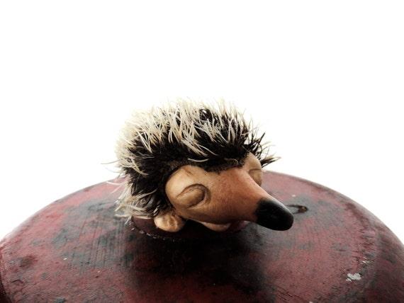 Hedgehog suitable for Blythe dolls  German mohair  bjd prop children's room decor