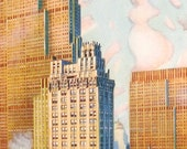 Rockefeller Center by Marcus A Van Der Hope Postcard