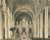 Church of Immaculate Conception Art Photo Postcard 1906