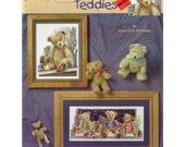 Cross stitch Thread Bear Teddies Booklet unused 2006